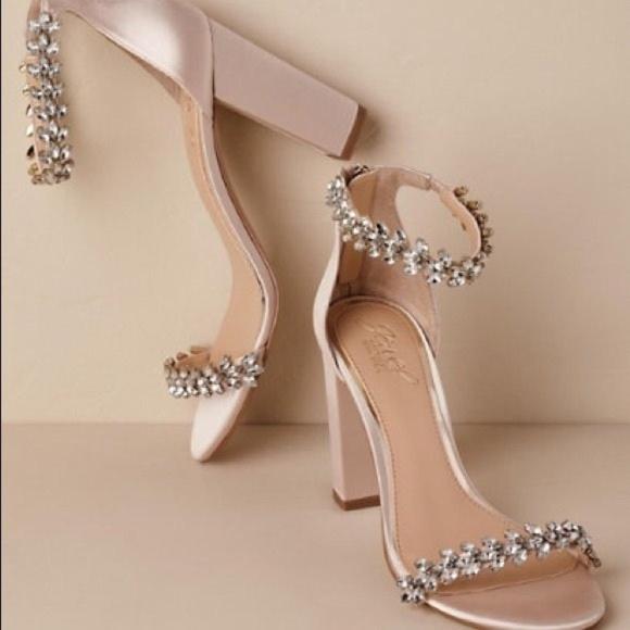 635df9b63b Badgley Mischka Shoes - Jewel by Badgley Mischka Mayra Block Heels